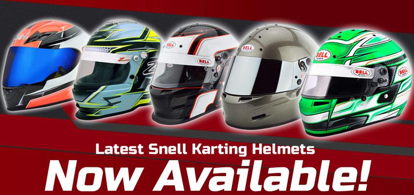 Snell Karting Helmets